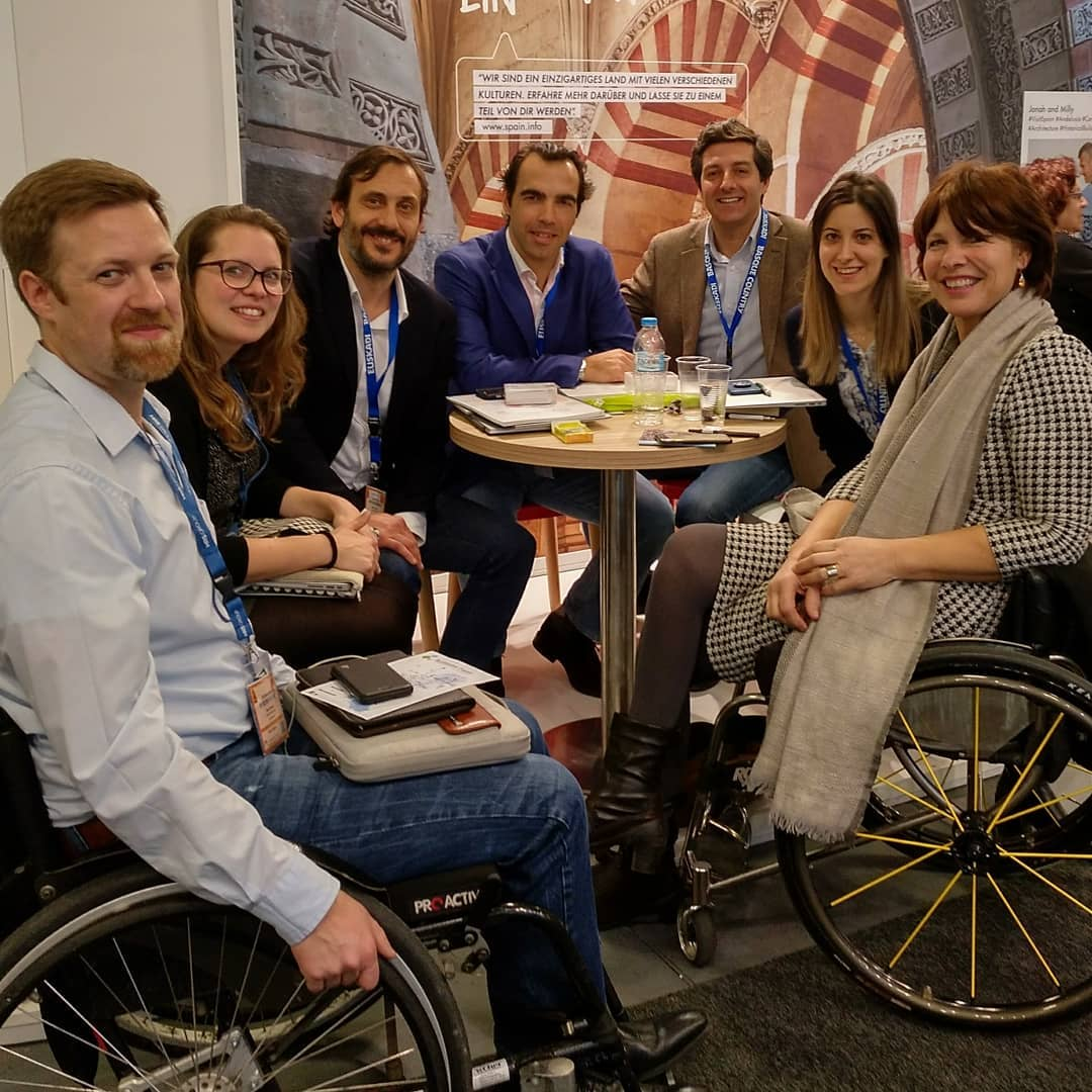 Accessible Madrid meeting at the International Tourism Fair of Berlin